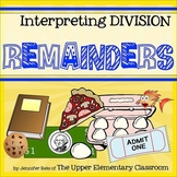 Interpreting Division Remainders - Hands-On Centers, Task
