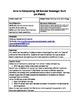 Intro to Composting: QR Scanner Scavenger Hunt  (on iPads!)