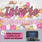 Intro to Drugs Webquest