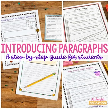 Introducing Paragraphs