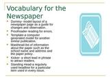 Introducing the School Newspaper