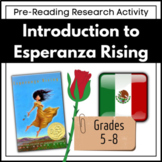 Introduction to Esperanza Rising