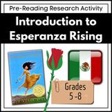 Introduction to Esperanza Rising