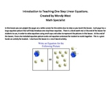 Introduction to One Step Linear Equation - Hands-on