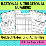 Introduction to Rational and Irrational Numbers, Interacti