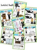 Inventions and Inventors Clip Art Bundle