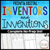 Inventors and Inventions Unit - No Prep
