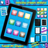 Tablet PC Clipart Frames and Borders