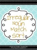 Irregular Noun Match Sort