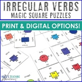 Irregular Verbs Magic Square