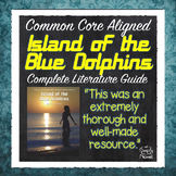 Island of the Blue Dolphins - 163 pages - Activities, Ques