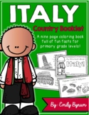 Italy Booklet (A Country Study!)