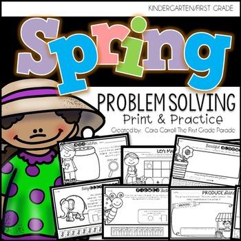 Print & Practice Problem Solving - SPRING (March & April)