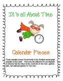 It's About Time: Clock Calendar Pieces