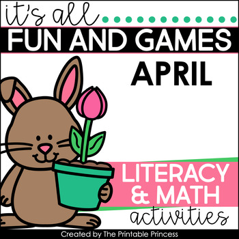 It's All Fun & Games {Spring Themed Math & Literacy Activities for Kindergarten}