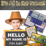 It's All in the Name, Teaching Math and Literacy with Thei