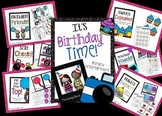 It's Birthday Time Bundled~ Math & Literacy Centers