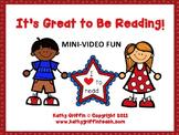 It's Great to Be Reading Mini Video Fun