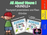 All About Nouns * BUNDLED* includes Activities and Power P