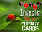 Fluency Task Cards {Itty Bitty Insect Facts}