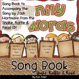 Jack Hartmann Family of Words Fun Music Book