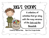 Jack and the Beanstalk Literacy Fun!