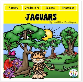 Jaguars: A Nonfiction Resource Pack for Grades 2-4