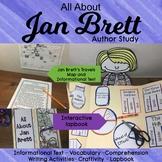 Jan Brett Author Study - The Mitten, The Hat, Three Snow Bears