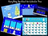 January 2016 Kindergarten Calendar for ActivBoard