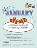 January 32-Page Thematic Lesson Plans Booklet