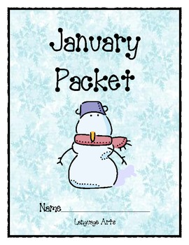 January Language Arts Packet