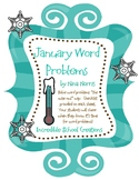 January Monthly Word Problem Packet