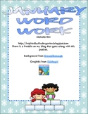 January Word Work Activities