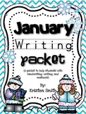 January Writing- helping students with handwriting and wri
