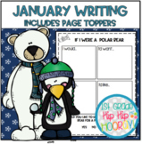 January Writing with Page Toppers...Simple crafts and Writ