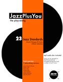 "JazzPlusYou ""The Play-Along"" Book & mp3 Disc"