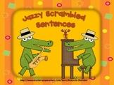 Jazzy Scrambled Sentences