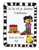 Je lis et je dessine - L'automne  Fall themed read and draw