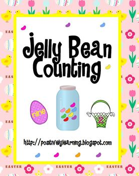 Jelly Bean Counting Jars