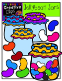 Jellybeans and Jars {Creative Clips Digital Clipart}