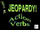 Jeopardy Noun/Verb Game