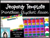 Jeopardy Template Promethean Flipchart Lesson