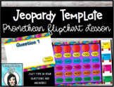 Jeopardy Template Promethean Flipchart Lesson