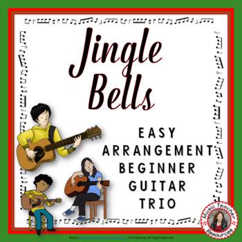 Jingle Bells. Instrumental for Guitar trio