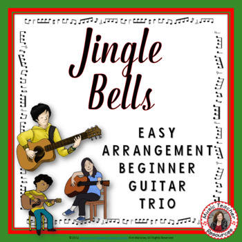 Jingle Bells. Instrumental for Guitar trio