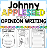 Johnny Appleseed Opinion Writing Printables for First and