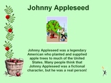 Johnny Appleseed Power Point - Story, Poem, Math, Song