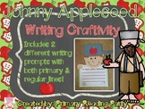 Johnny Appleseed Writing Craftivity with Bonus Graphic Organizers