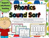 Jolly Phonics Sound Sort Worksheets - Books 1 -7