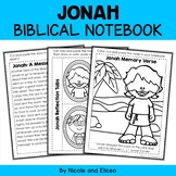 Jonah Bible Unit (text, memory verse & activities)